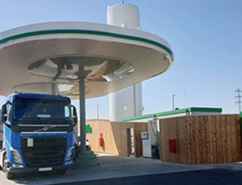 Natural gas in heavy goods transport